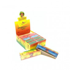 12 x HoneyPuff Multi Colour King Size Rolling Machine -  TN404N
