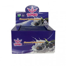 24 Jumbo Flavoured King Size Rolling Papers - Flavour: Blueberry