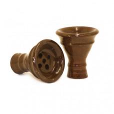 Khalil Maamoon Medium Clay Funnel Head Shisha Bowl