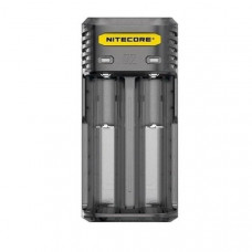 Nitecore Q2 Charger-  Clear/Black/ Yellow/Pink - Color: black