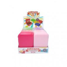 12 x Plastic Standard Multi-Colour Rolling Storage Box - FG600