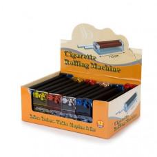 12 x Plastic Multi Colour King Size Rolling Machine - R001