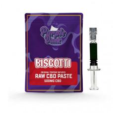 Purple Dank 1000mg CBD Raw Paste with Natural Terpenes - Biscotti - Amount: 0.5g
