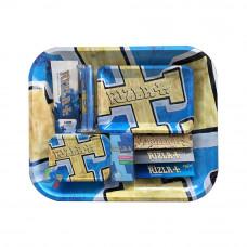 Rizla Large Metal Rolling Tray Gift Set