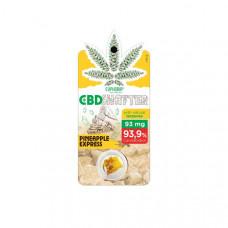 Euphoria 93mg CBD Shatter Pineapple Express 0.1g