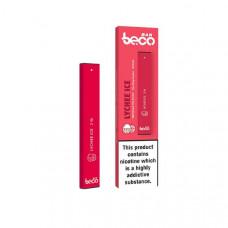 10mg Vaptio Beco Bar Disposable Vape Pod - Flavour: Lychee Ice