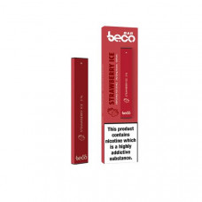 20mg Vaptio Beco Bar Disposable Vape Pod - Flavour: Strawberry Ice