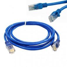 CAT 5E Ethernet RJ45 Blue Cable - Size: 15m