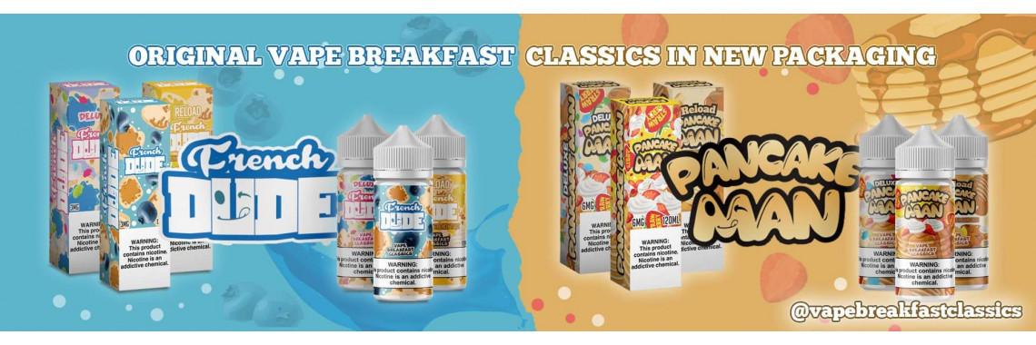 Vaping Breakfast Classics Banner